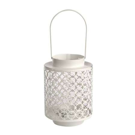 Altom Kovový lampáš na čajovú sviečku Naya, 13 x 18,5 cm