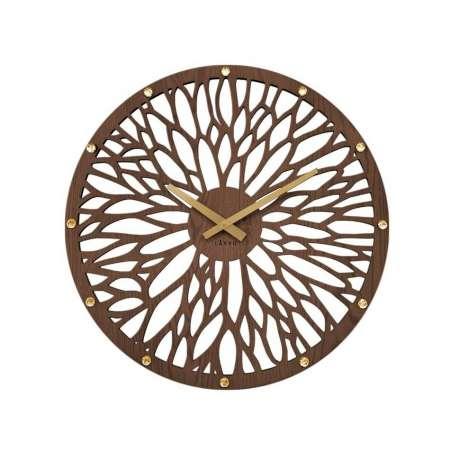 Lavvu LCT1180 Nástenné hodiny Wood, 49 cm