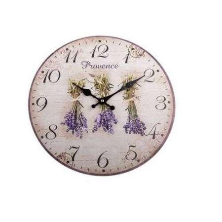 Nástenné hodiny Provence, 34 cm