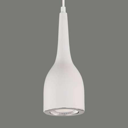 ACB ILUMINACIÓN Matné biele LED závesné svietidlo Tai z hliníka
