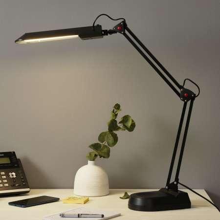 ALCO Lampa na pracovisko PRACY, čierna