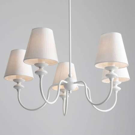ALDEX Visiaci luster 932 s piatimi tienidlami na lampu