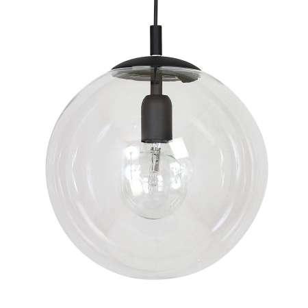 ALDEX Závesná lampa 562, číre, čiapočka/baldachýn čierne