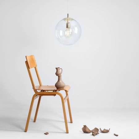 ALDEX Závesná lampa 562 číre čiapočka/baldachýn zlaté