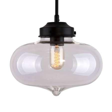 ALTAVOLA DESIGN Závesná lampa LA005 E27 srdce tienidlo sklo číre