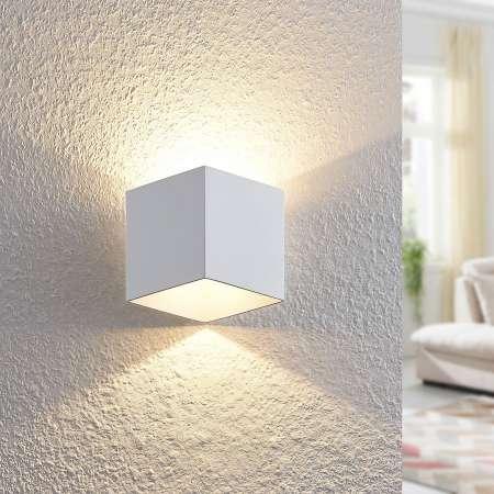 Arcchio Arcchio Alima nástenná LED, IP44, biela