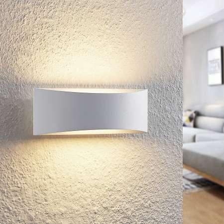 Arcchio Arcchio Danta nástenná LED, biela