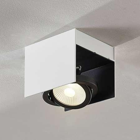 Arcchio Arcchio Olinka stropné LED svetlo čierno-biele 1pl