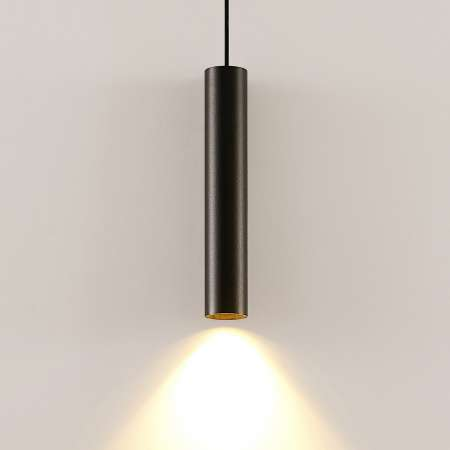 Arcchio Archio Ejona závesná lampa, výška 35 cm, čierna