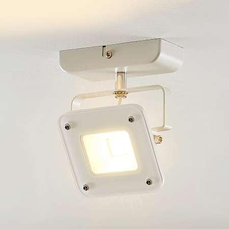 Arcchio LED svetlo Juliana biele stmievateľné 1-plameňové