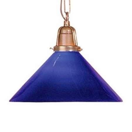 Artistar Farebná závesná lampa SARINA, modrá