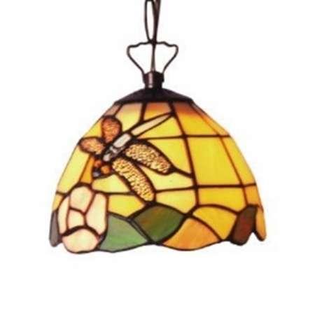Artistar Ozdobná závesná lampa v štýle Tiffany LIBELLE