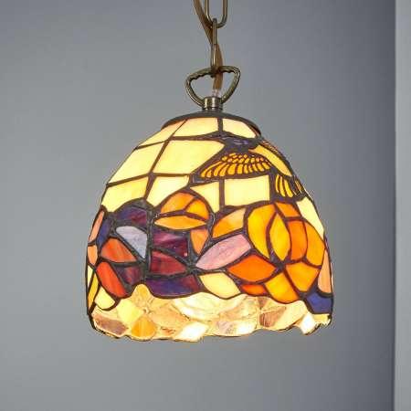 Artistar Závesná lampa v štýle Tiffany COLIBRI