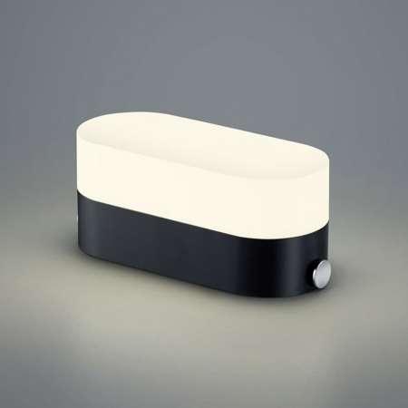 B-Leuchten B-Leuchten Case stolná lampa, USB port, antracit