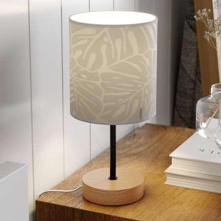 BRITOP Stolná lampa Hierro potlačené papierové tienidlo