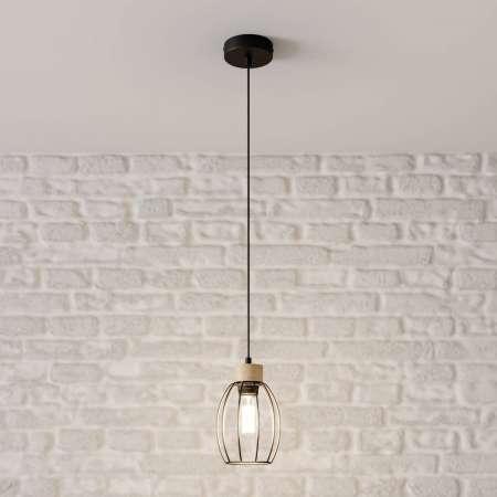BRITOP Závesná lampa Beeke s klietkovým tienidlom