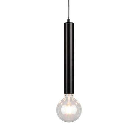 BRITOP Závesná lampa Lecy, čierna, 1-plameňová