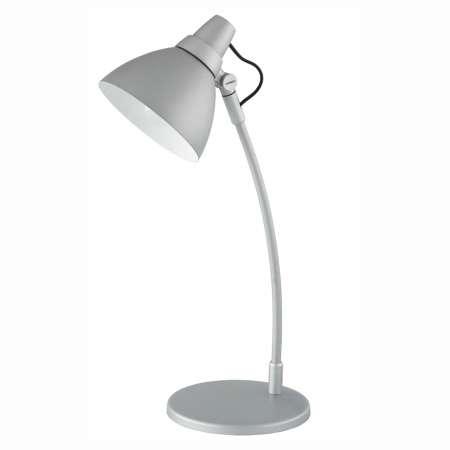 Brilliant Farebná stolná lampa Onni sivá, s podstavcom