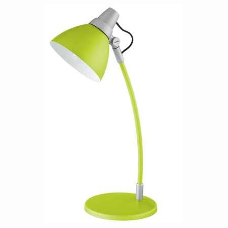 Brilliant Farebná stolná lampa Onni zelená, s podstavcom