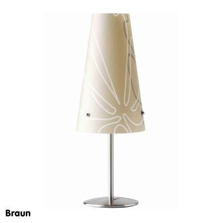 Brilliant Stolná lampa Isi hnedá