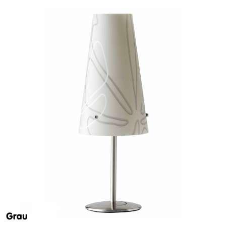 Brilliant Stolná lampa Isi sivá