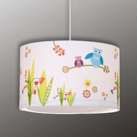 Brilliant Závesná lampa Birds do detskej izby