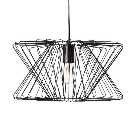 Brilliant Závesná lampa George Town klietkové tienidlo kov