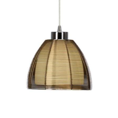 Brilliant Závesná lampa Relax, 1-plameňová 19cm bronz
