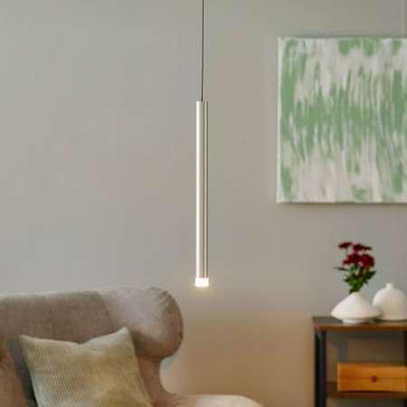 Brilliant Závesné LED Cembalo stmievateľné 1-pl. hliník