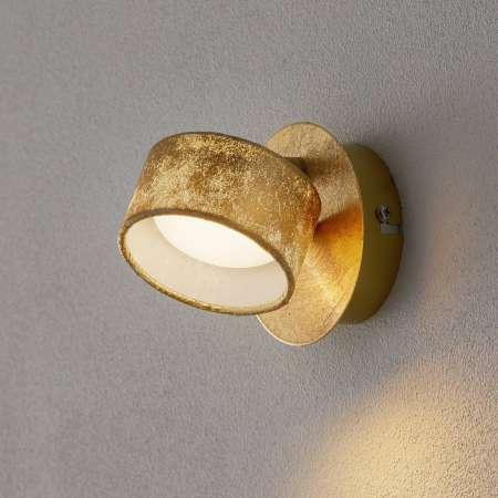 Briloner Nástenné LED svetlo Anna v zlate