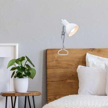 Briloner Upínacia lampa 2790 s kovovým tienidlom, biela