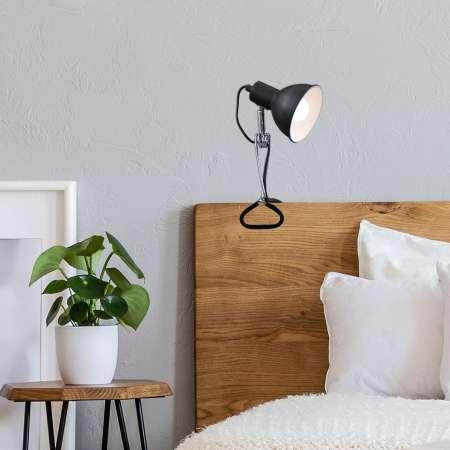 Briloner Upínacia lampa 2790 s kovovým tienidlom, čierna