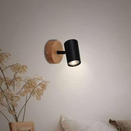 Briloner Wood & Style 2920 nástenné svietidlo drevený
