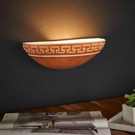 Ceramiche Nástenné svietidlo GRECA MEDITERRANEO