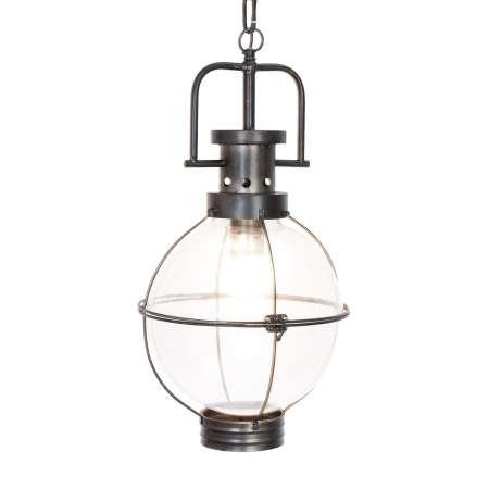 Clayre & Eef Závesná lampa 448, starožitne navrhnutá