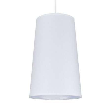 DUOLLA Závesná lampa Soul, biela