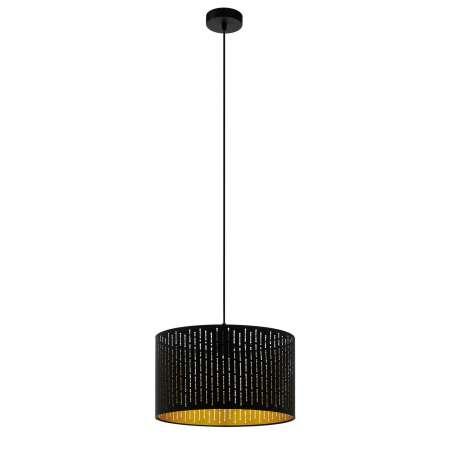 EGLO Stropné svietidlo Varillas v čierno/zlatom, 38 cm