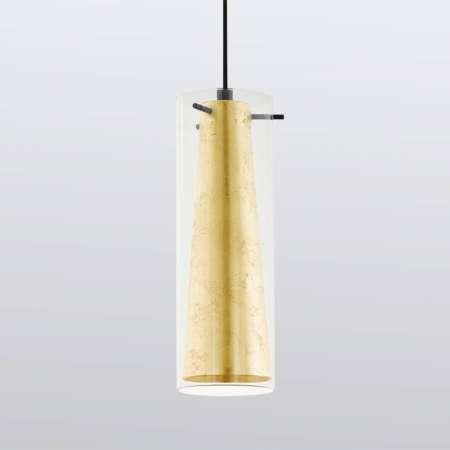 EGLO Závesná lampa Pinto zlatá 1-plameňová