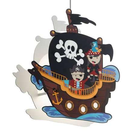 EGLO Závesná lampa San Carlo Pirátska loď