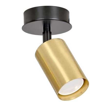EMIBIG LIGHTING Stropné bodové svetlo Zen 1-pl. v čiernej/zlatej