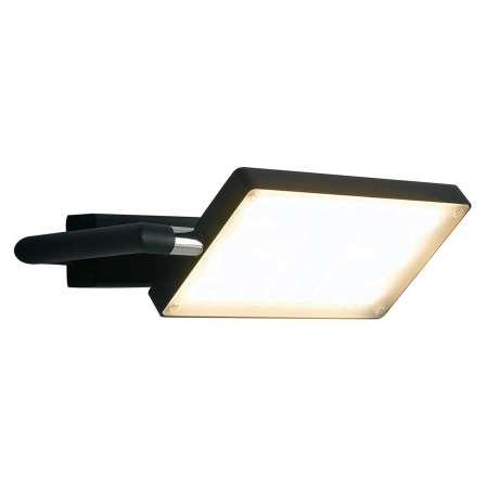 Eco-Light Nástenné LED svietidlo Book, čierne