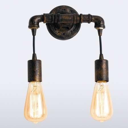 Eco-Light Nástenné svietidlo Amarcord, 2-plameňové