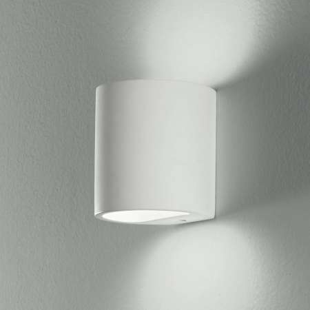 Eco-Light Nástenné svietidlo Shine Up&Downlight v bielej