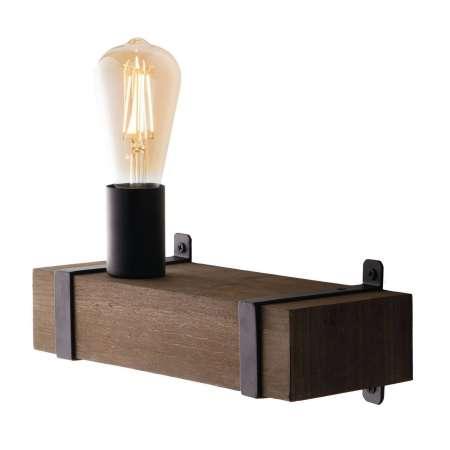 Eco-Light Nástenné svietidlo Texas starožitné drevo, 1-pl.
