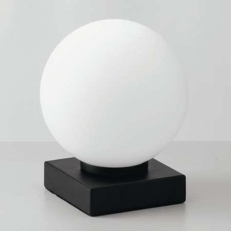Eco-Light Stolná lampa Enoire v čiernej a bielej, 1-pl.