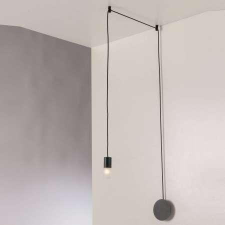 Eco-Light Závesná lampa Spider decentrálna 1-pl., antracit
