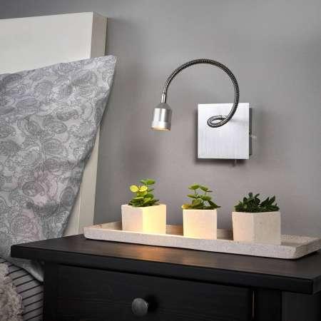 FISCHER & HONSEL Funkčné nástenné LED svietidlo Lowi flexi rameno