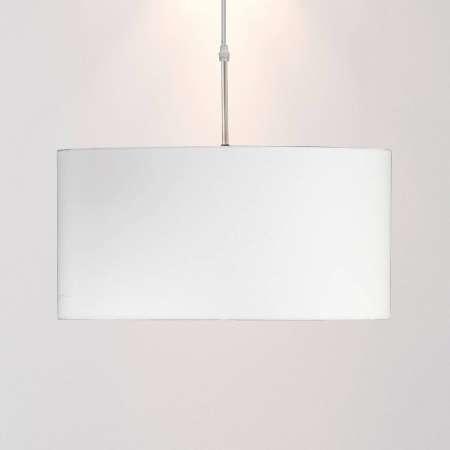 FISCHER & HONSEL Závesná lampa s textilným tienidlom v bielej