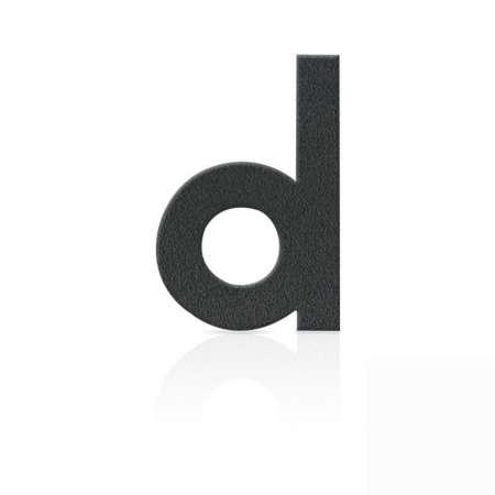 Heibi Čísla domu z ušľachtilej ocele písmeno d
