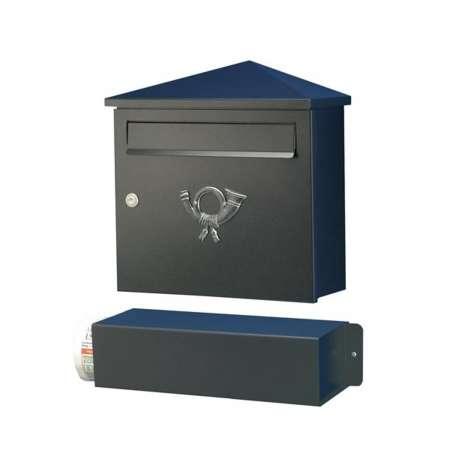 Heibi Poštová schránka Lucio čierna